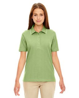 Ladies Edry® Needle-Out Interlock Polo-