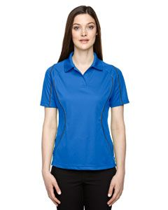 Ladies Eperformance™ Velocity Snag Protection Colorblock Polo With Piping-