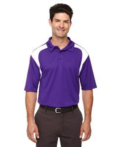 Mens Eperformance� Colorblock Textured Polo-
