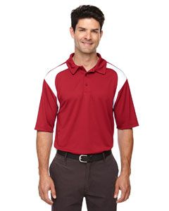 Mens Eperformance™ Colorblock Textured Polo-