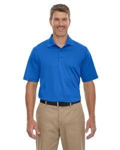 Mens Eperformance� Stride Jacquard Polo-