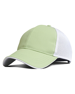 Performance Pearl Nylon Mesh Back Cap-Fahrenheit