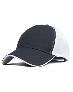 Performance Pearl Nylon Mesh Back Cap-