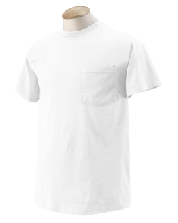 Adult Hd Cotton™ Pocket T-Shirt-Fruit of the Loom