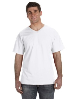 Adult 5 Oz. Hd Cotton™ V-Neck T-Shirt-Fruit of the Loom
