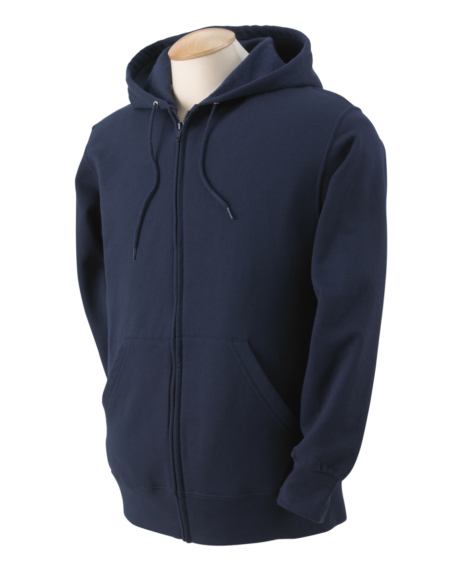 Adult 12 Oz. Supercotton™ Full-Zip Hood-Fruit of the Loom