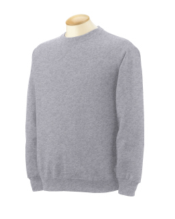 Adult 12 Oz. Supercotton� Fleece Crew-Fruit of the Loom
