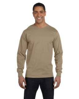 6 Oz., 100% Cotton Lofteez Hd® Long-Sleeve T-Shirt-Fruit of the Loom