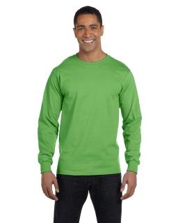6 Oz., 100% Cotton Lofteez Hd® Long-Sleeve T-Shirt-Fruit of the Loom