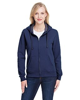 Ladies 7.2 Oz. Sofspun® Full-Zip Hooded Sweatshirt-