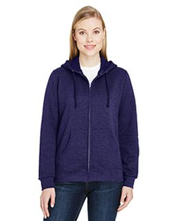 Ladies 7.2 Oz. Sofspun® Full-Zip Hooded Sweatshirt-Fruit of the Loom