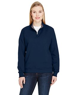 Ladies 7.2 Oz. Sofspun® Ladies Quarter - Zip Sweatshirt