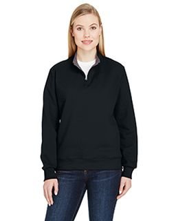 Ladies 7.2 Oz. Sofspun® Quarter-Zip Sweatshirt-
