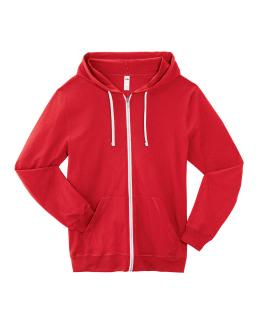 Adult Sofspun® Jersey Full-Zip Hooded Sweatshirt-