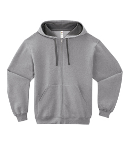 Adult 7.2 Oz. Sofspun® Full-Zip Hooded Sweatshirt-Fruit of the Loom