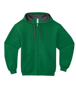 Adult Sofspun® Full-Zip Hooded Sweatshirt-Fruit of the Loom