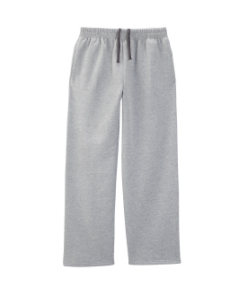 Adult 7.2 Oz. Sofspun® Open-Bottom Pocket Sweatpants-