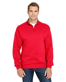 Adult 7.2 Oz. Sofspun® Quarter-Zip Sweatshirt-Fruit of the Loom