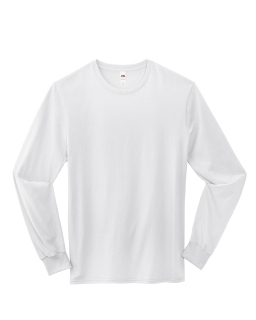 Adult 4.7 Oz. Sofspun® Jersey Long-Sleeve T-Shirt-Fruit of the Loom