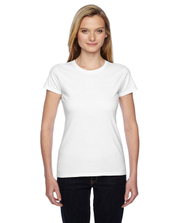 Ladies 4.7 Oz. Sofspun® Jersey Junior Crew T-Shirt