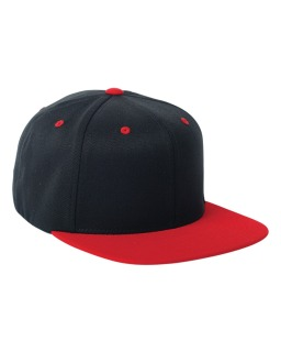 Adult Wool Blend Snapback Two-Tone Cap-Flexfit