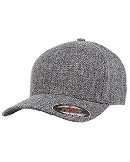 Adult Poly Melange Heather Stretch Cap-