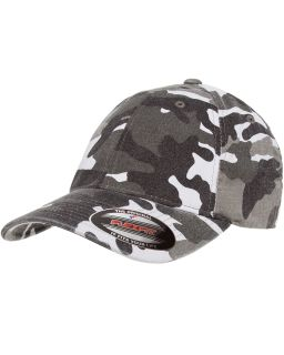 Adult Cotton Camouflage Cap-Flexfit