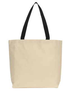 Colored Handle Tote-