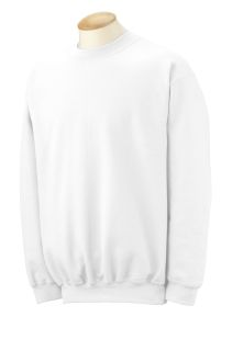 Adult Dryblend® Adult 9 Oz., 50/50 fleece Crew-