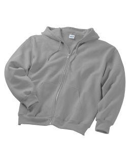 Adult Dryblend® Adult 50/50 Full-Zip Hooded Sweatshirt-