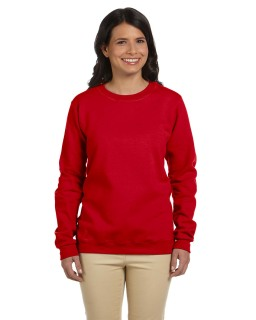 Ladies Heavy Blend� 8 Oz., 50/50 Fleece Crew-