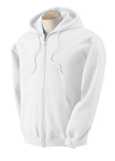 Adult Heavy Blend™ 50/50 Full-Zip Hooded Sweatshirt-