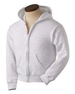Youth Heavy Blend™ 50/50 Full-Zip Hooded Sweatshirt-Gildan