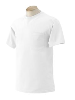 Adult Ultra Cotton® 6 Oz. Pocket T-Shirt-