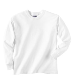 Youth Ultra Cotton® 6 Oz. Long-Sleeve T-Shirt-