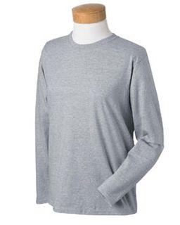 Ladies� 6.1 Oz. Ultra Cotton® Long-Sleeve T-Shirt-