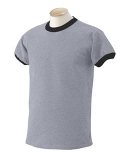 6.1 Oz. Ultra Cotton® Ringer T-Shirt-Gildan