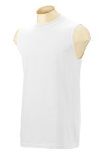 Adult Ultra Cotton® 6 Oz. Sleeveless T-Shirt-