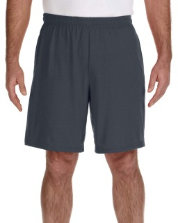 "Adult Performance® Adult 5.5 Oz. 9"" Short With Pockets-"
