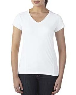 Ladies Performance® Ladies 4.7 Oz. V-Neck Tech T-Shirt-