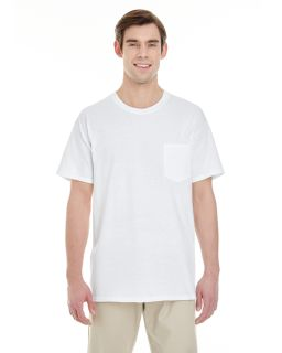 Adult 5.3 oz. Pocket T-Shirt-Gildan