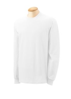 Adult 5.3 Oz. Long-Sleeve T-Shirt-Gildan