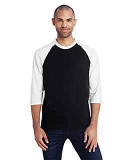 Adult 5.3 Oz. 3/4-Raglan Sleeve T-Shirt-Gildan