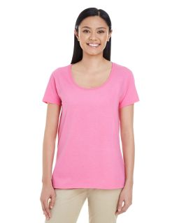 Ladies Softstyle® Deep Scoop T-Shirt-