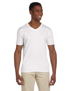 Adult Softstyle® 4.5 Oz. V-Neck T-Shirt-Gildan