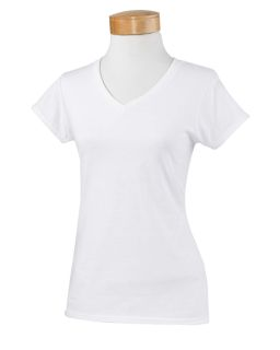 Ladies Softstyle® 4.5 Oz. Fitted V-Neck T-Shirt-Gildan