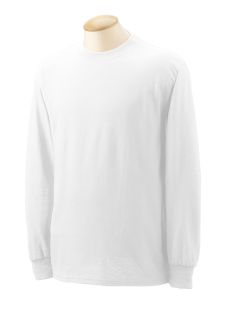 Adult 5.5 Oz., 50/50 Long-Sleeve T-Shirt-Gildan