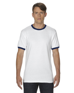 Adult Dryblend® 5.6 Oz. Ringer T-Shirt