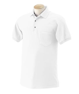 Adult 6 Oz., 50/50 Jersey Polo With Pocket