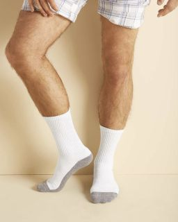 Adult Platinum™ Adult Crew Socks-Gildan